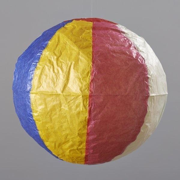 Japanese Paper Balloon Beachball-1