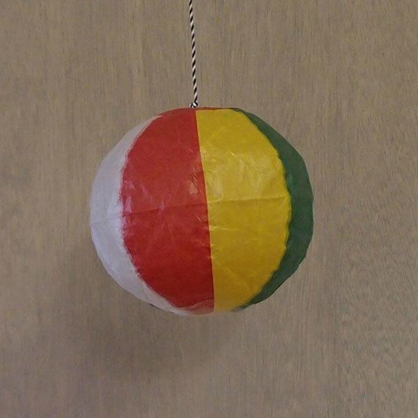 Japanese Paper Balloon Beachball-2