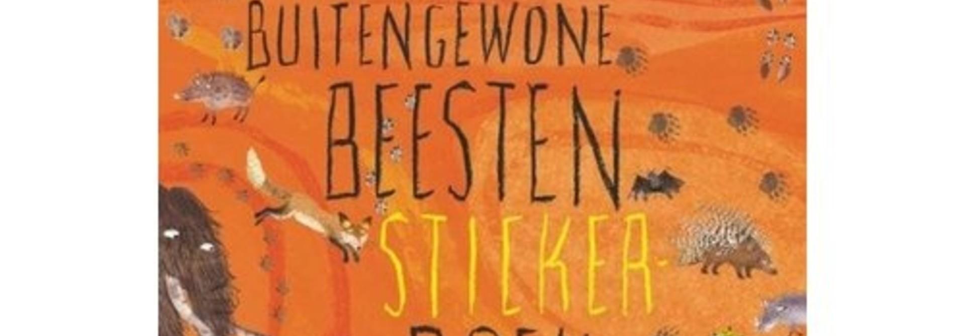 Het Buitengewone Beesten Sticker Book