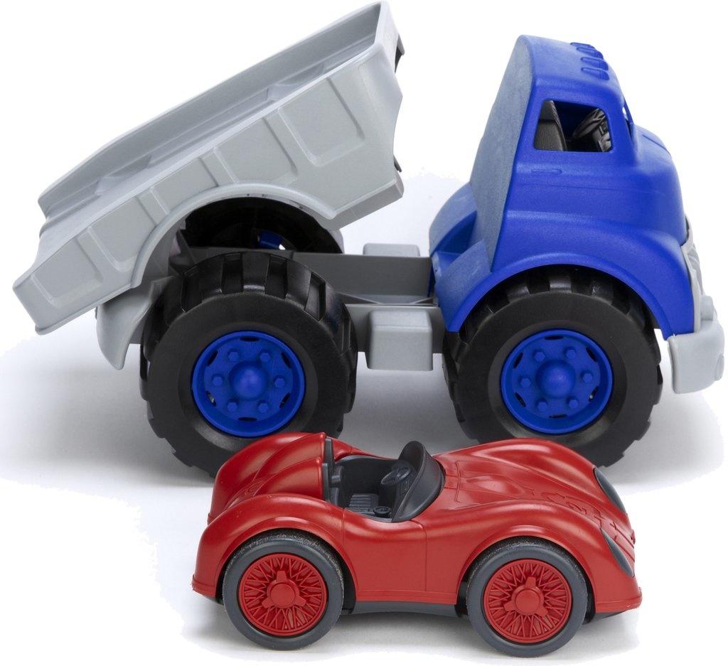 Oplegger met Raceauto-3