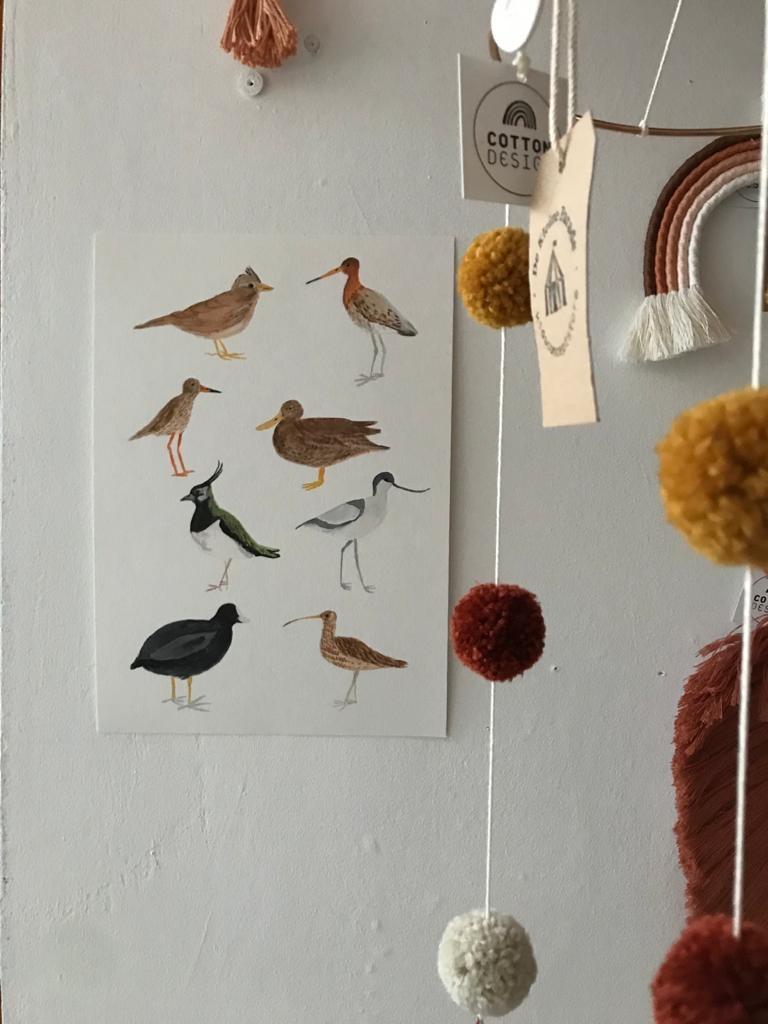 Weidevogels - giclée-2