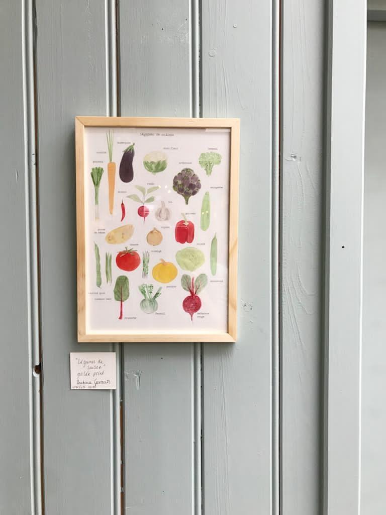 Légumes de Saison  - giclée-2