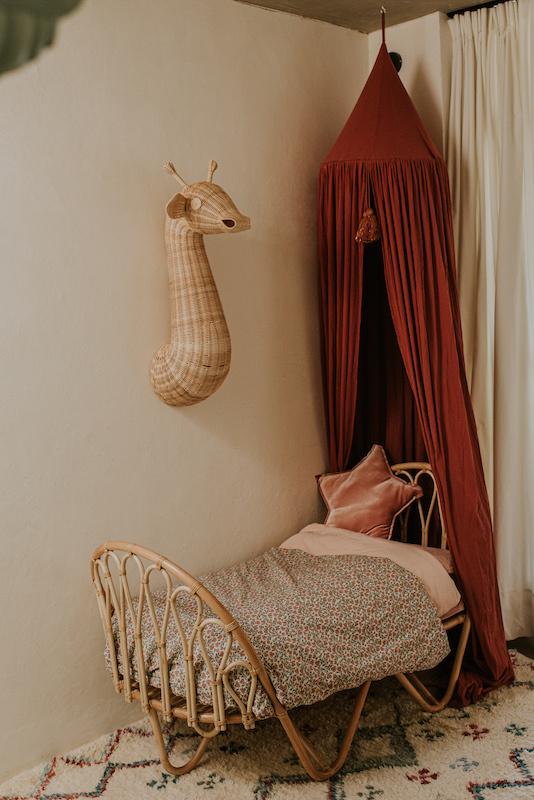 Rotan wanddecoratie dieren-3