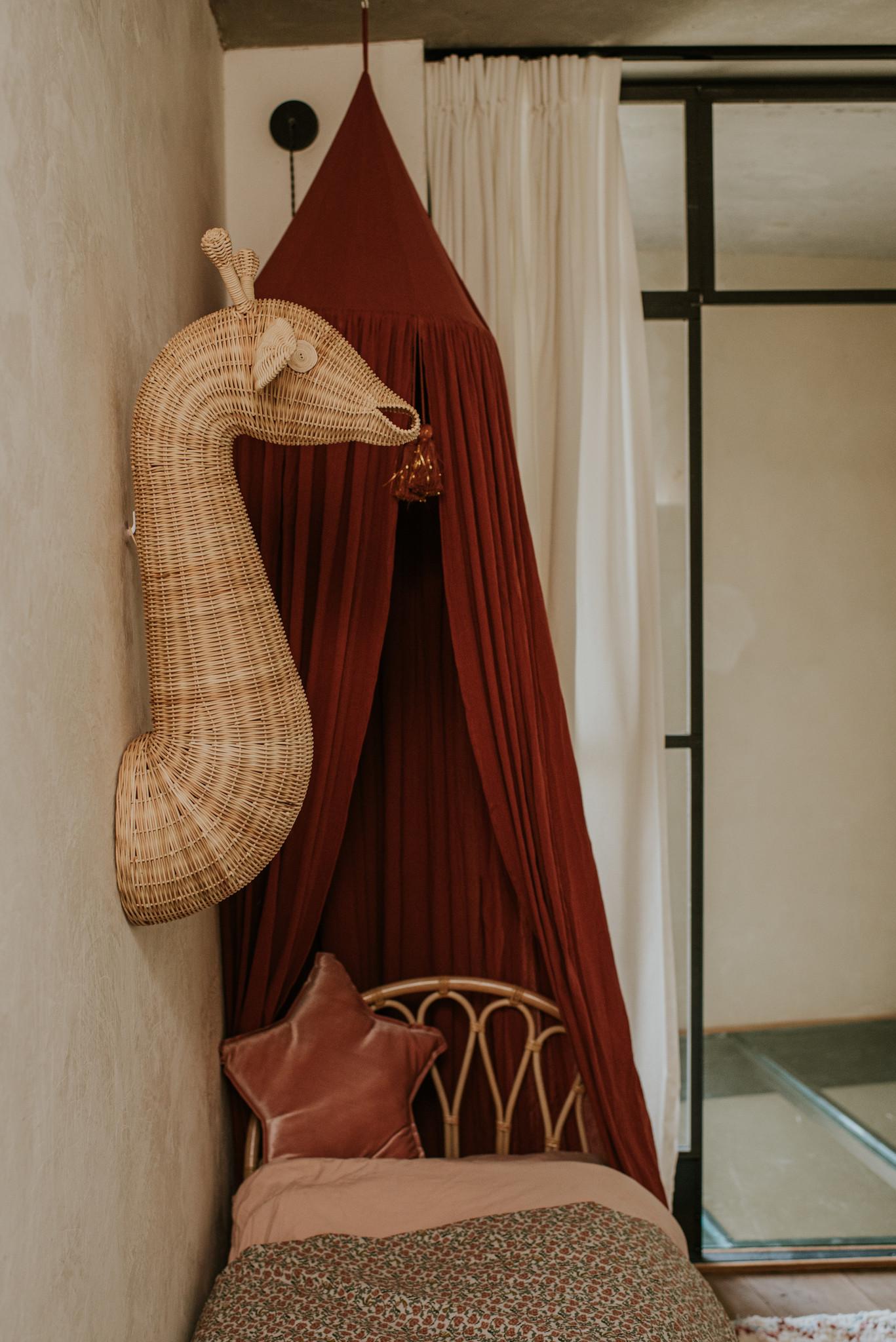 Rotan wanddecoratie dieren-4