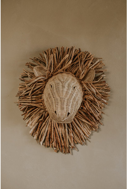 Rattan Wall Decoration Animals
