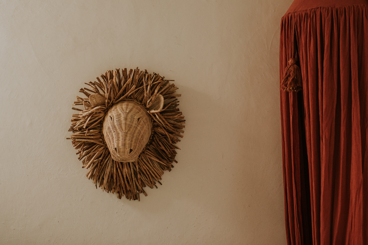 Rattan Wall Decoration Animals-7
