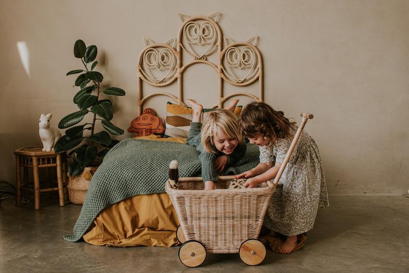 Toy Cart Rattan-5
