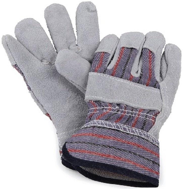 Leather garden gloves 4+-1