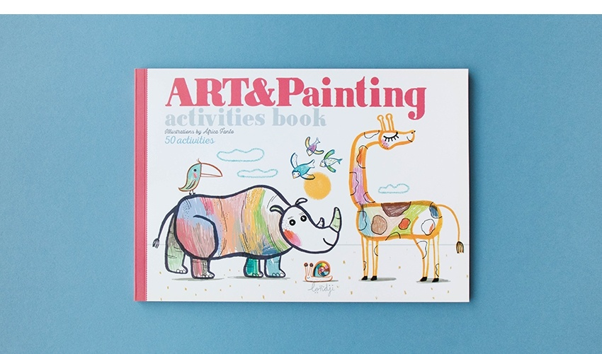 Art & Painting crafts book-7