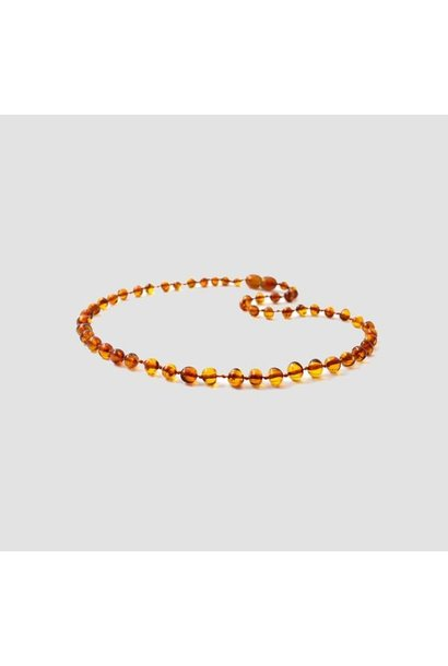 Amber toddler necklace