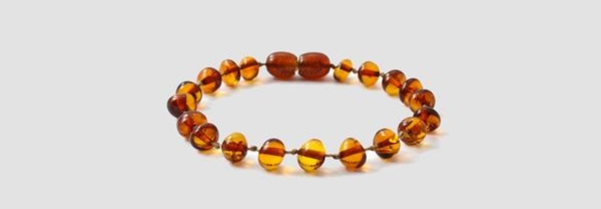 Amber toddler bracelet