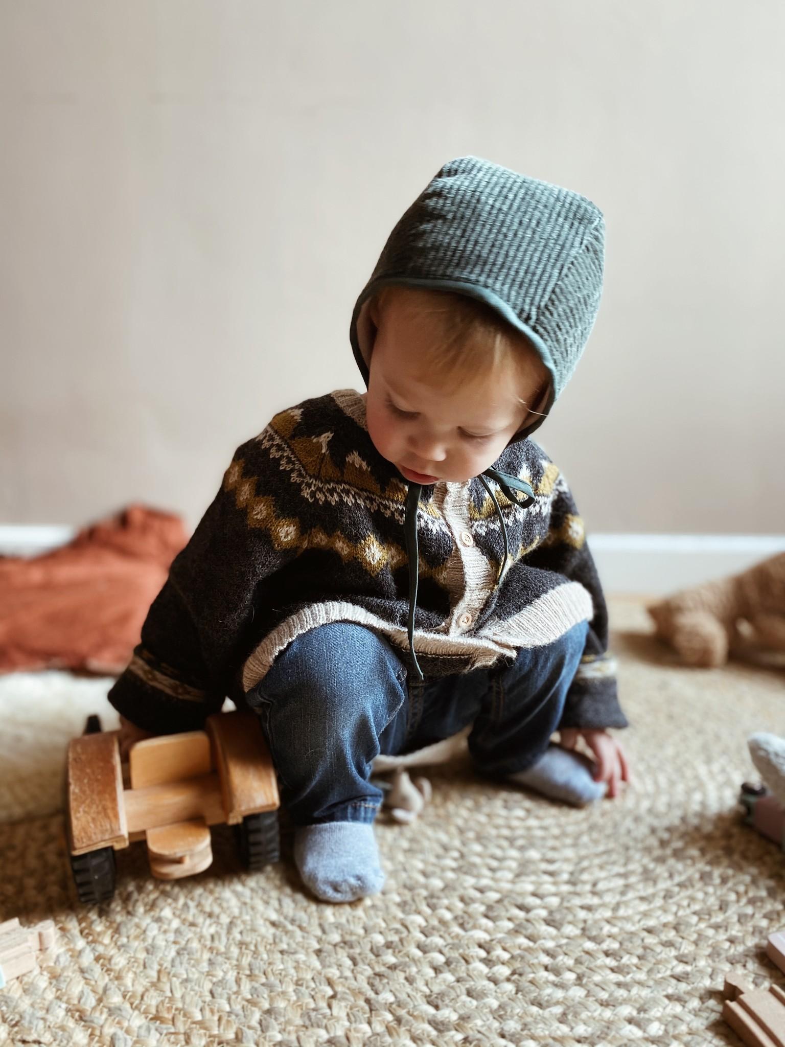 Baby Hat Corduroy-4