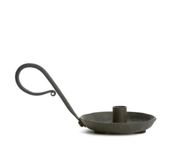 Zwarte kandelaar klein - diameter 1,2cm-1