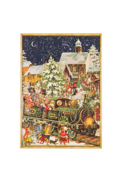 adventkalender ansichtkaart