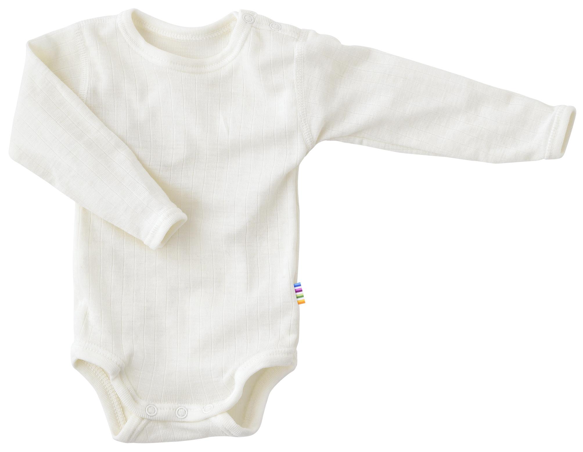 Bodysuit long sleeves - merino wool-1