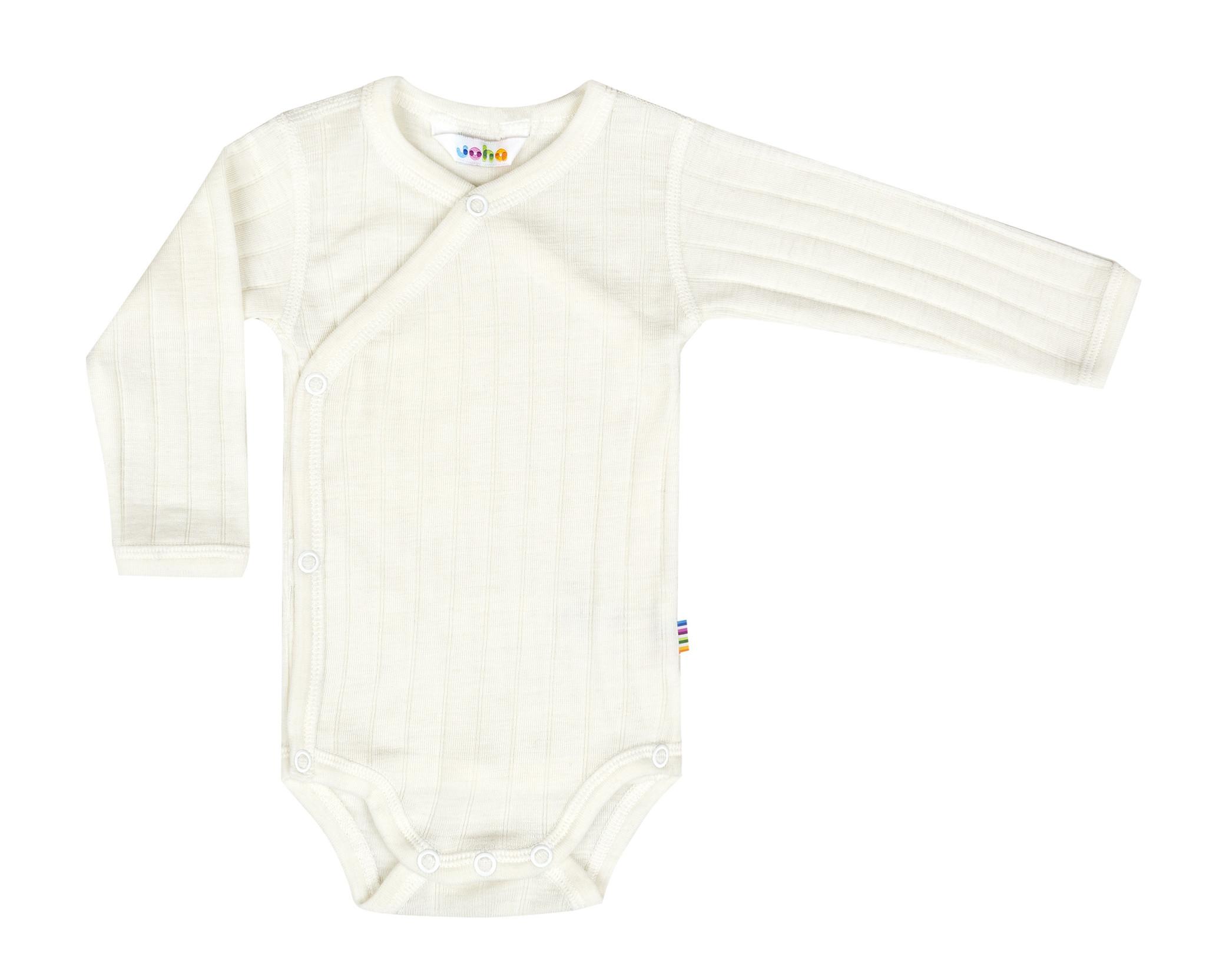 Bodysuit wrap long sleeves - wool-silk-1