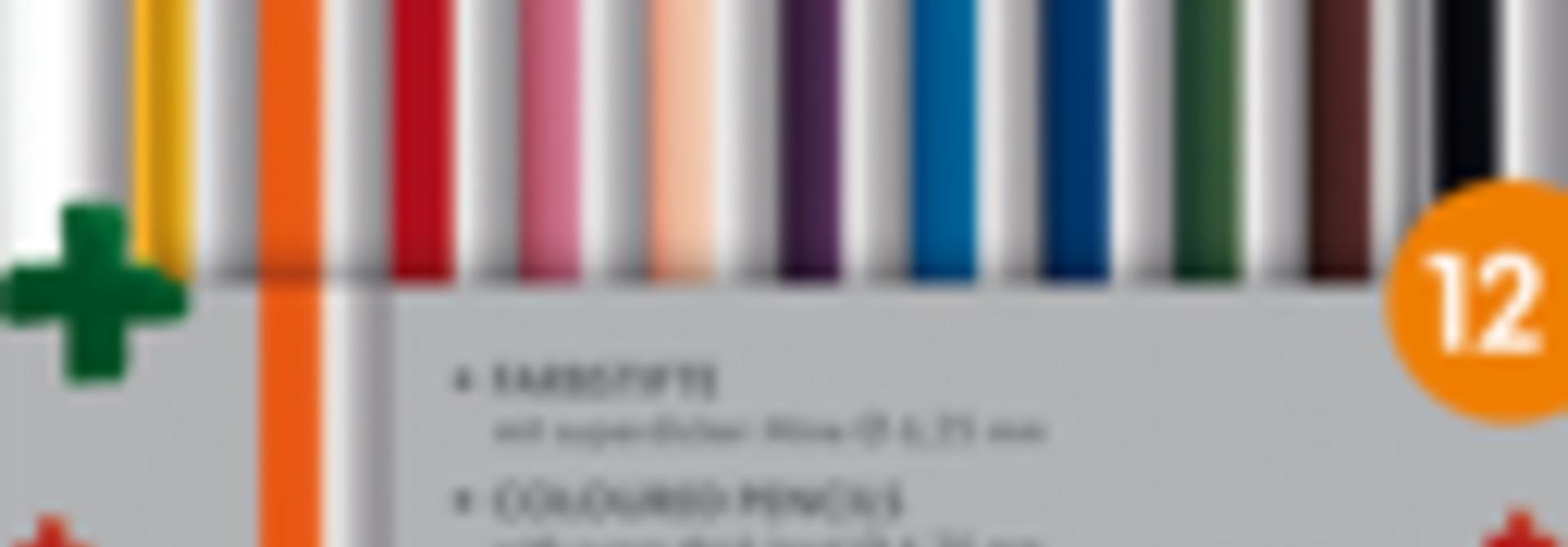 Kleurpotloden 4plus - 12 pcs