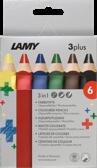 Color pencils 3plus - 6 pcs-1