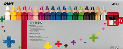 Kleurpotloden 3plus - 18 stuks-1