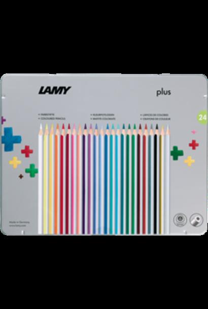 Color pencils plus box 24 pcs
