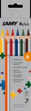 Kleurpotloden 4plus - 6 stuks-1