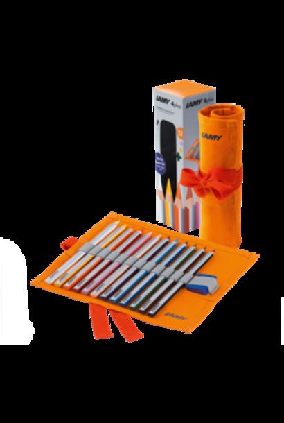 Travel set color pencils 4 plus