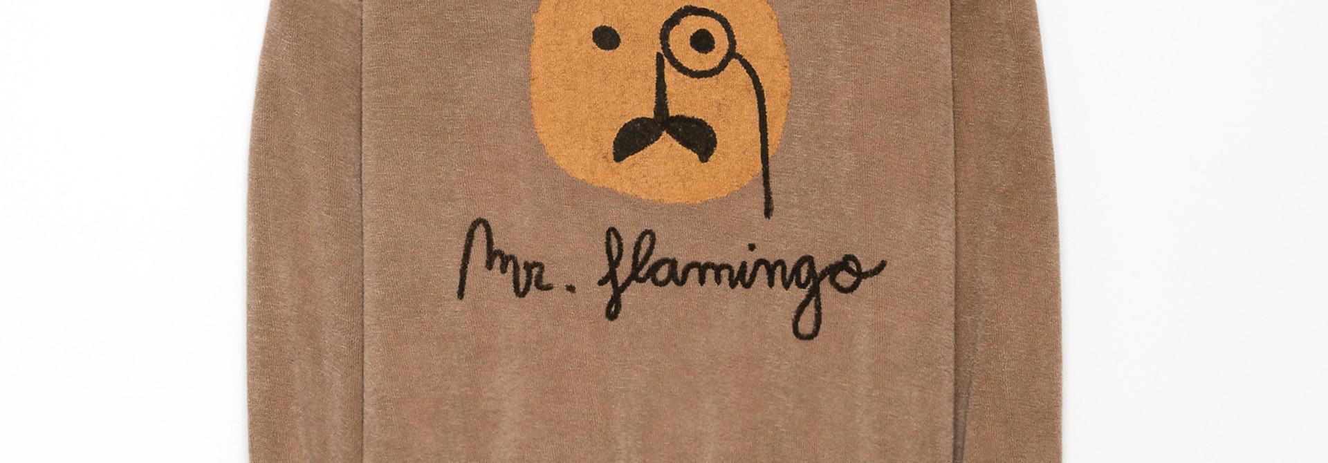 Flamingo sweat shirt