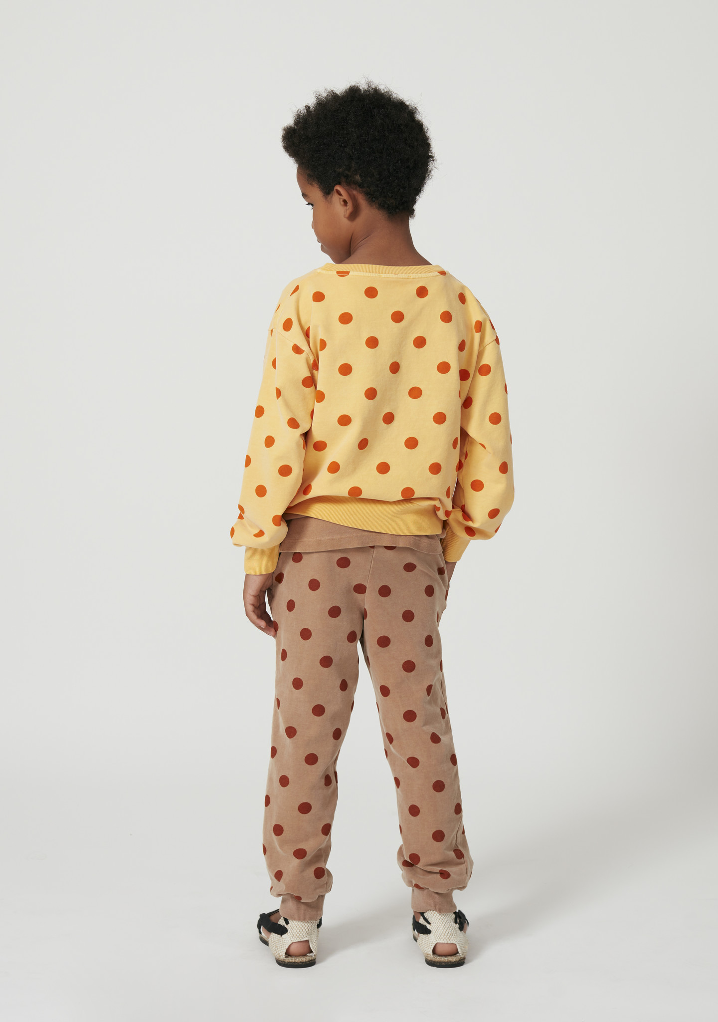 Dots pants-5