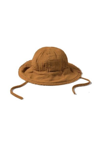 Sun hat - caramel