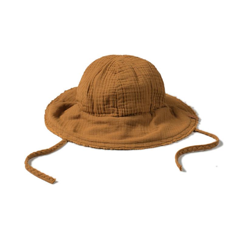Sun hat - caramel-1