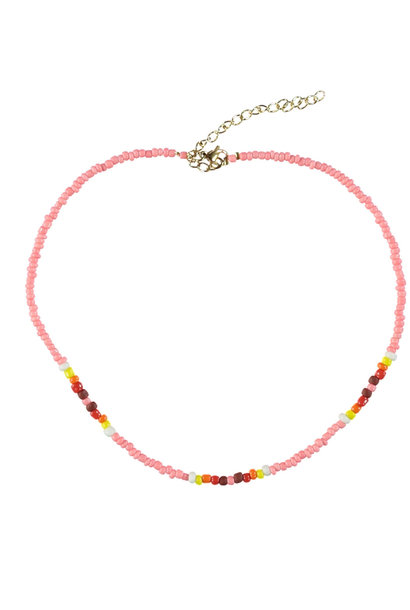 necklaces | pink