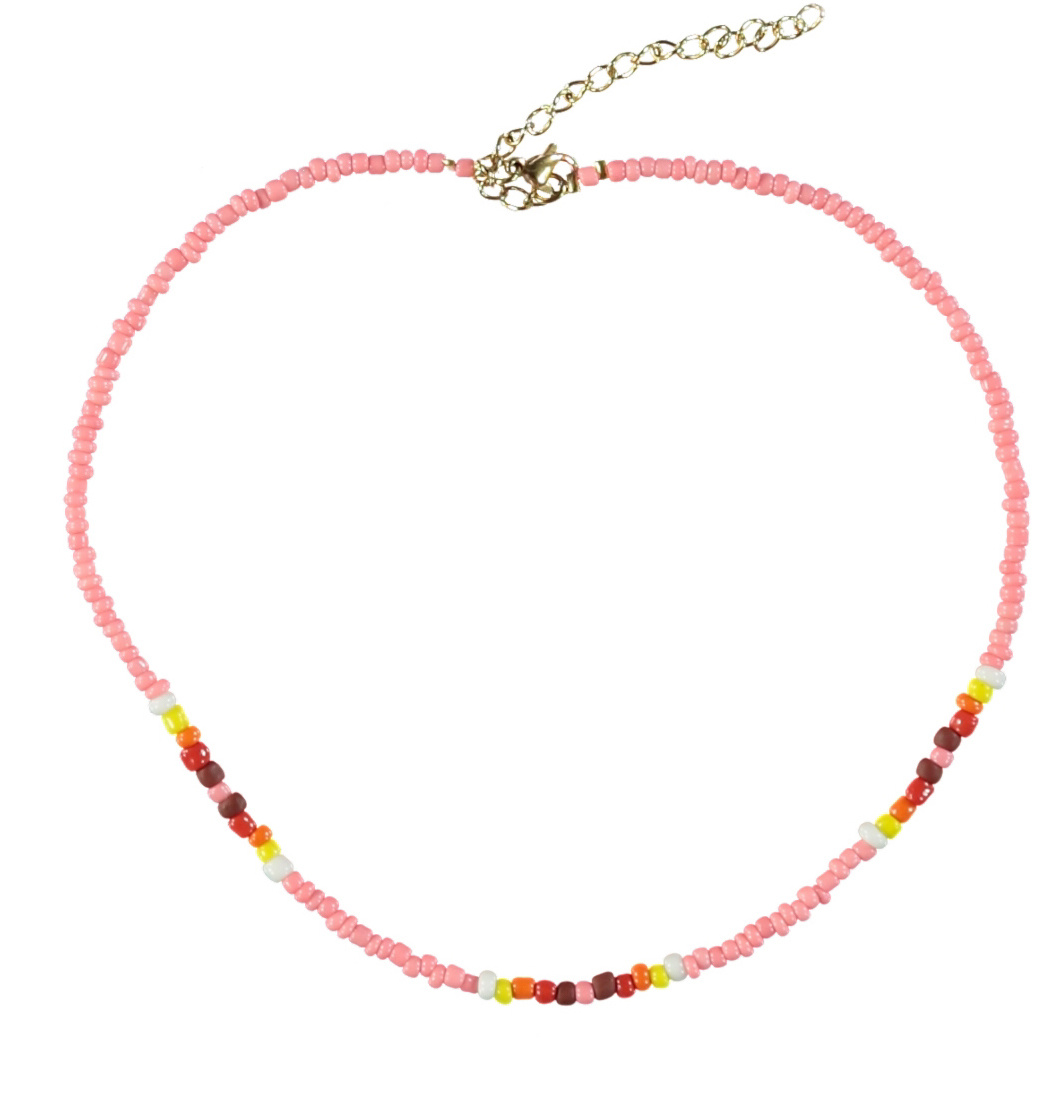 necklaces | pink-1