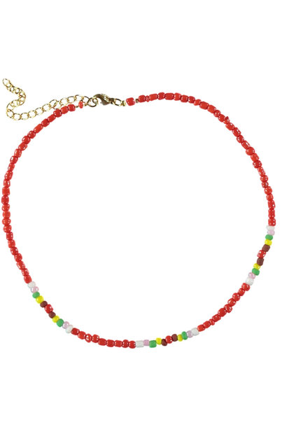 necklaces | red