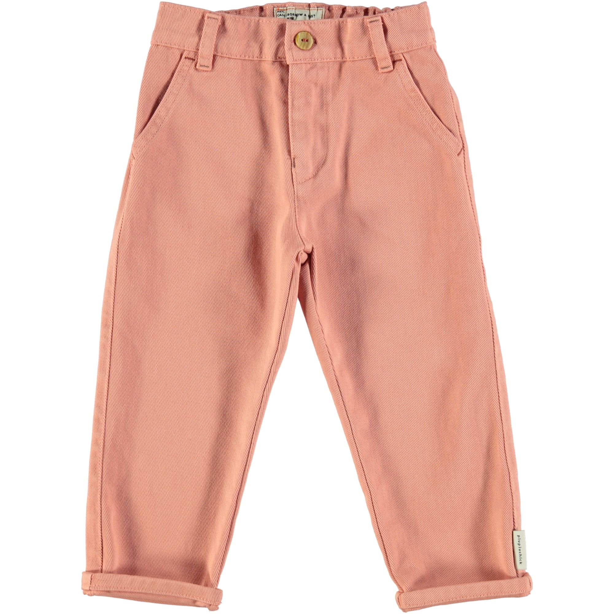 unisex trousers | pale pink-1