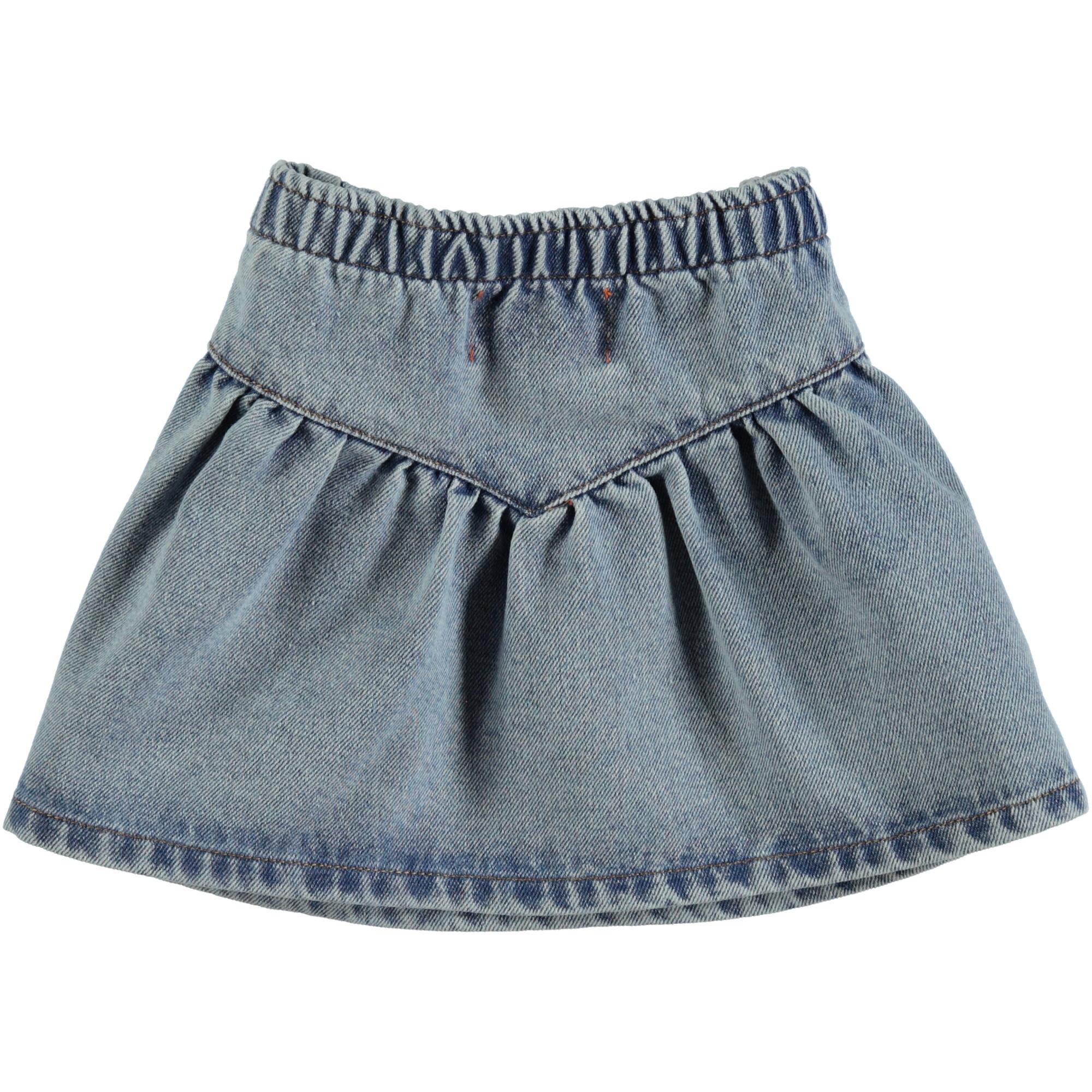 mini skirt   light blue washed denim-2