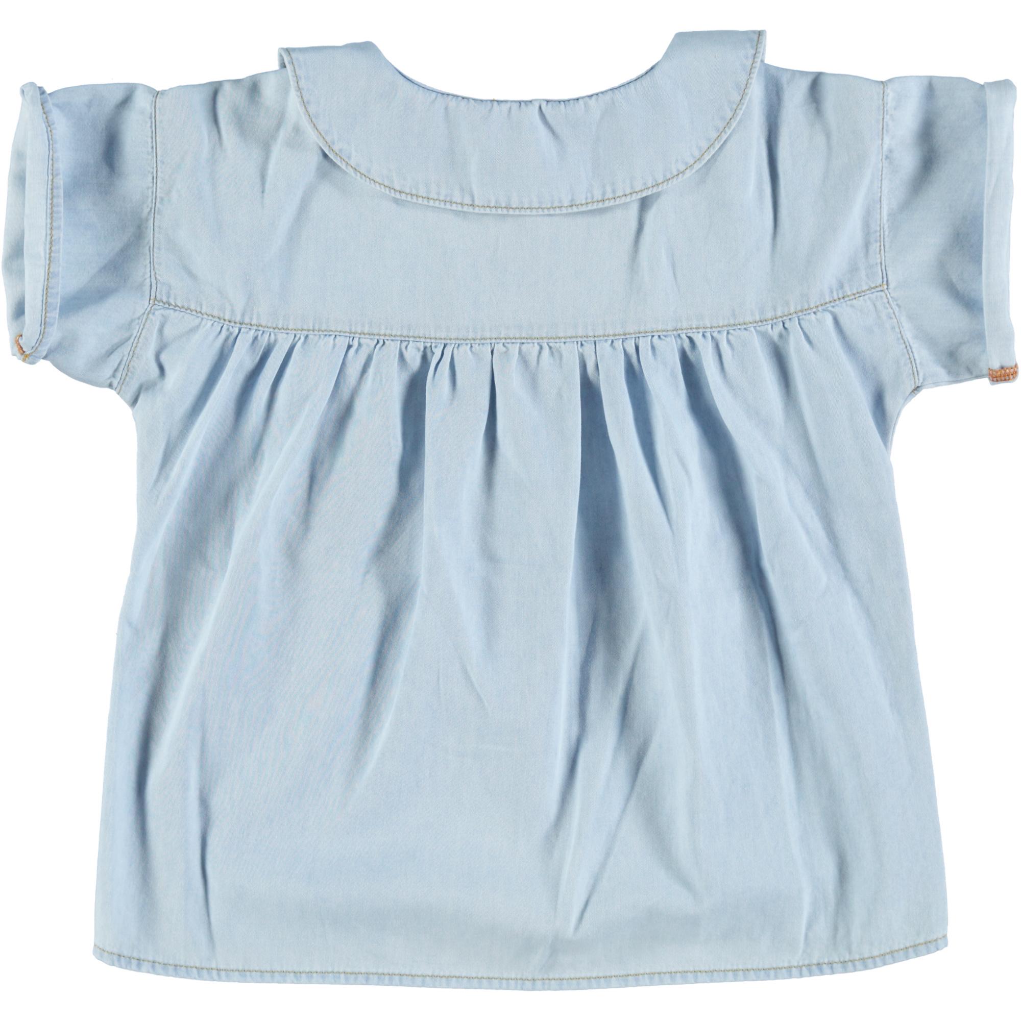 peter pan shirt | light blue washed denim-2