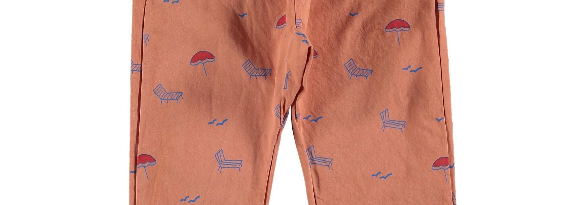 Baggy trouser sun beds