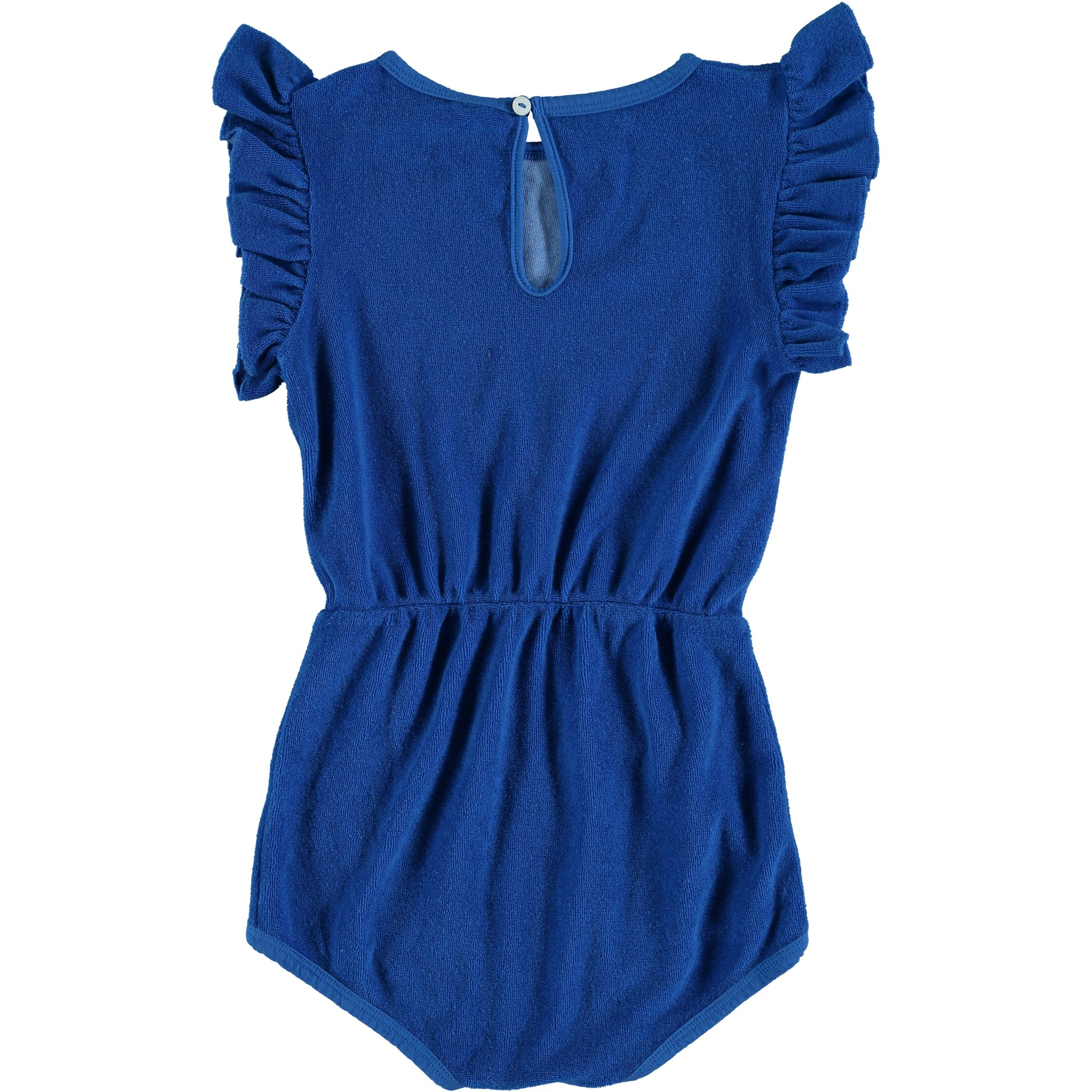Playsuit frill banana siesta-2