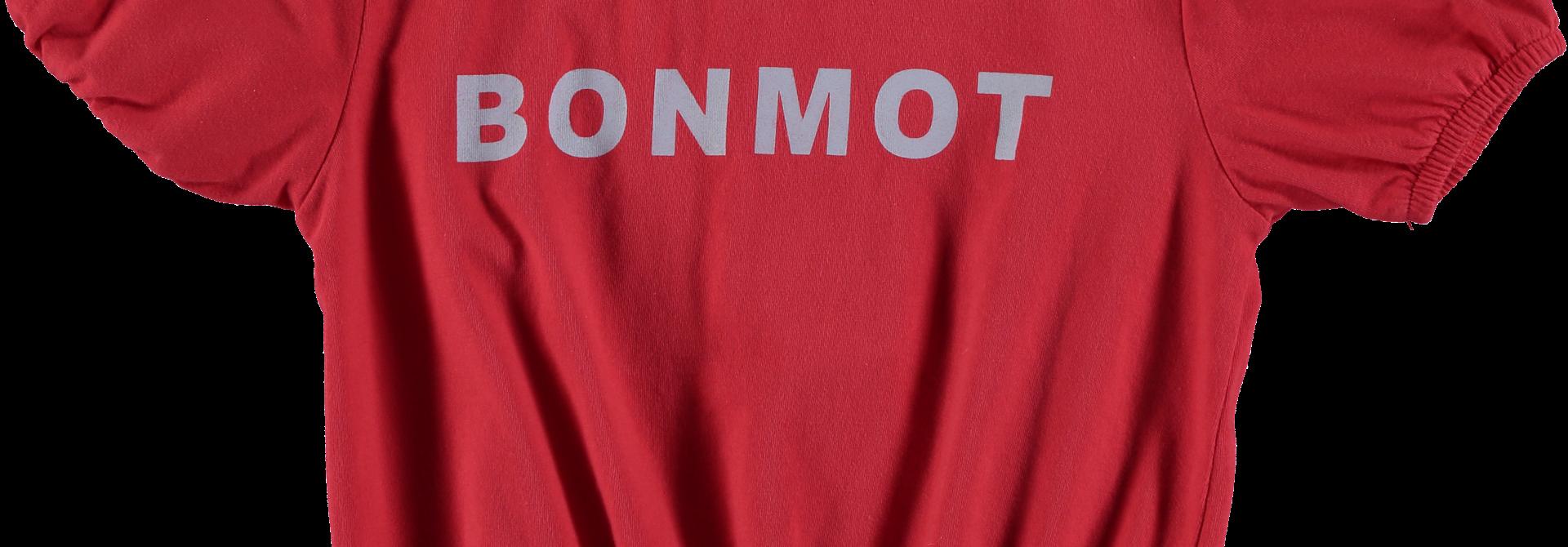 Crop t-shirt Bonmot