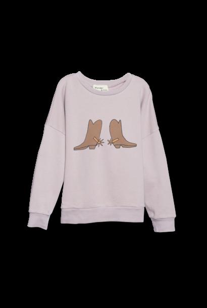 Summer Sweatshirt - mauve