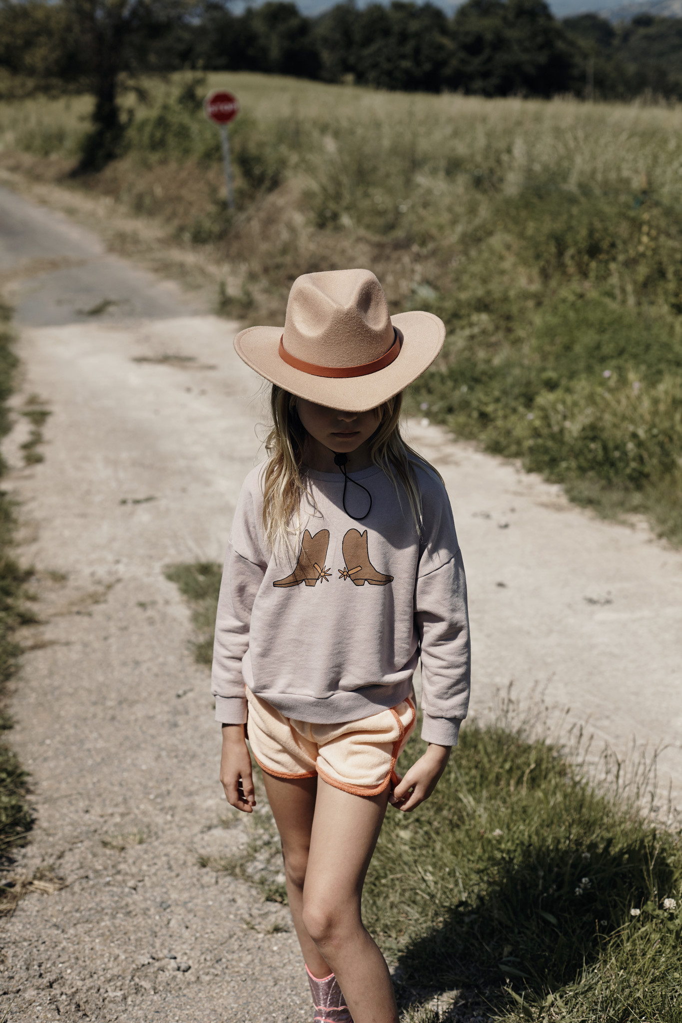 Summer Sweatshirt - mauve-2