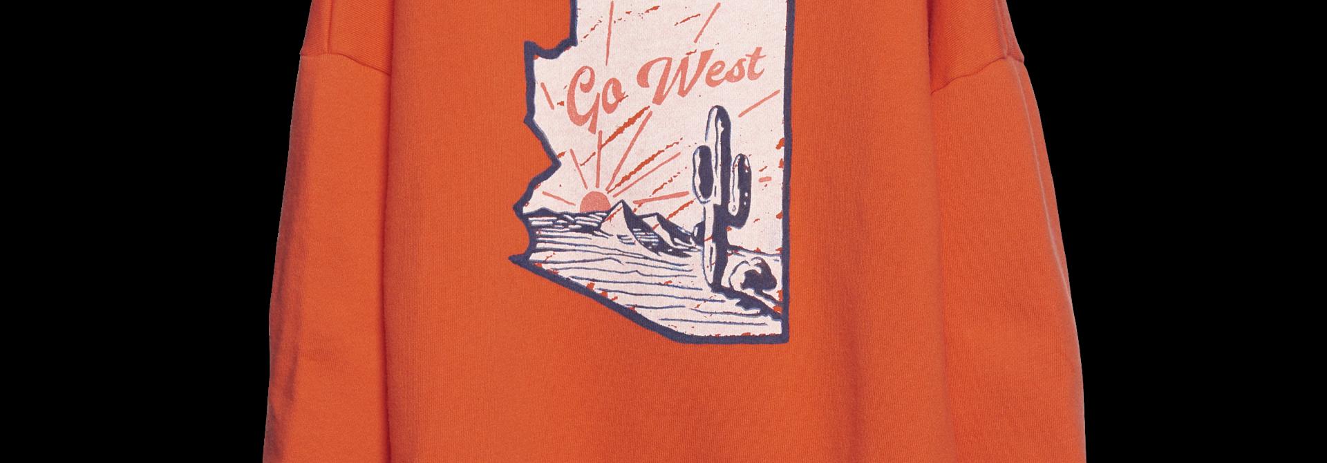 Summer Sweatshirt - fire