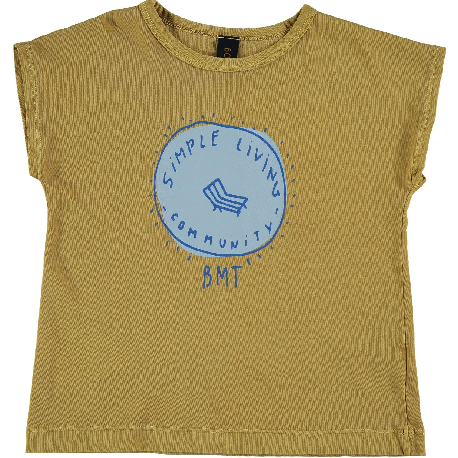 T-shirt simple living-1