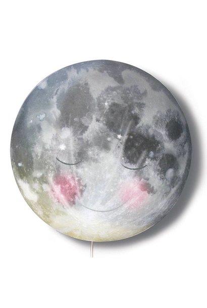 Nightlamp 'Go to sleep moon!'