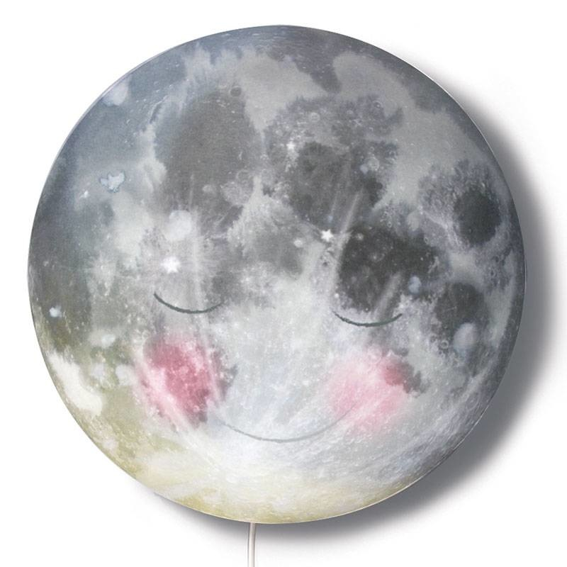 Nightlamp 'Go to sleep moon!'-1