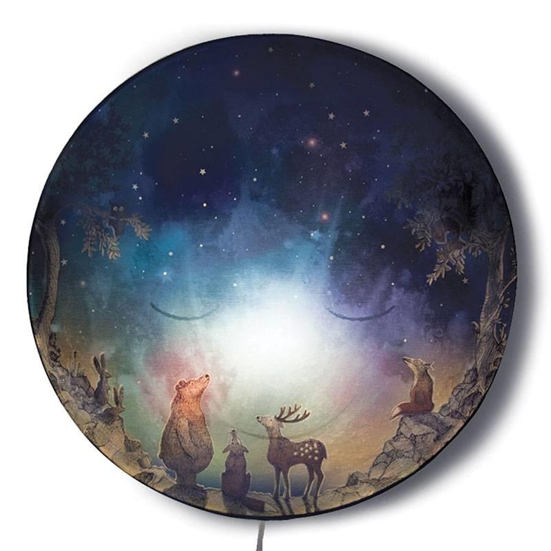 Nightlamp 'Go to sleep moon!'-2