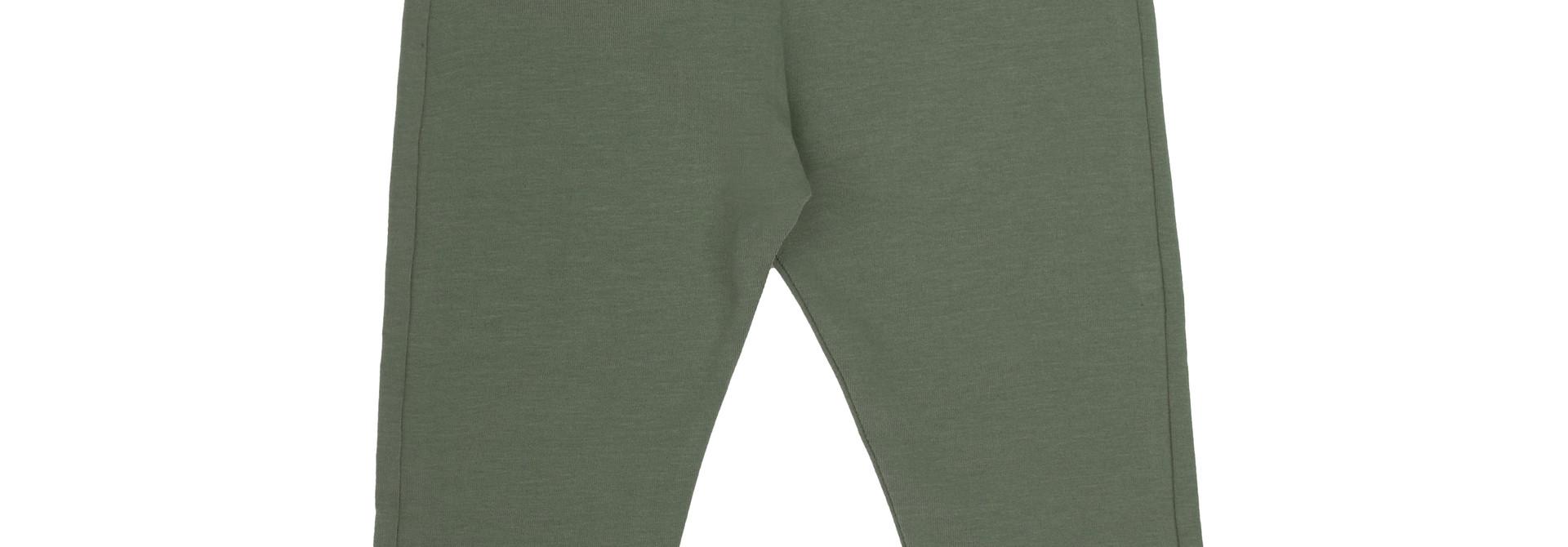 Basic jersey pants - Sage