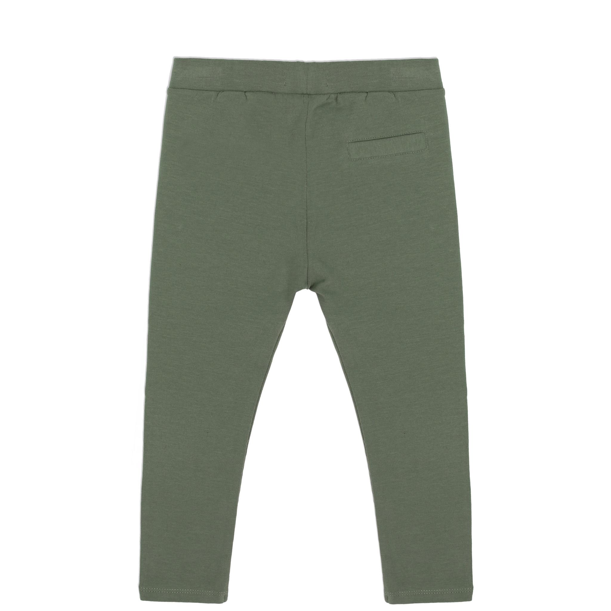 Basic jersey pants - Sage-2