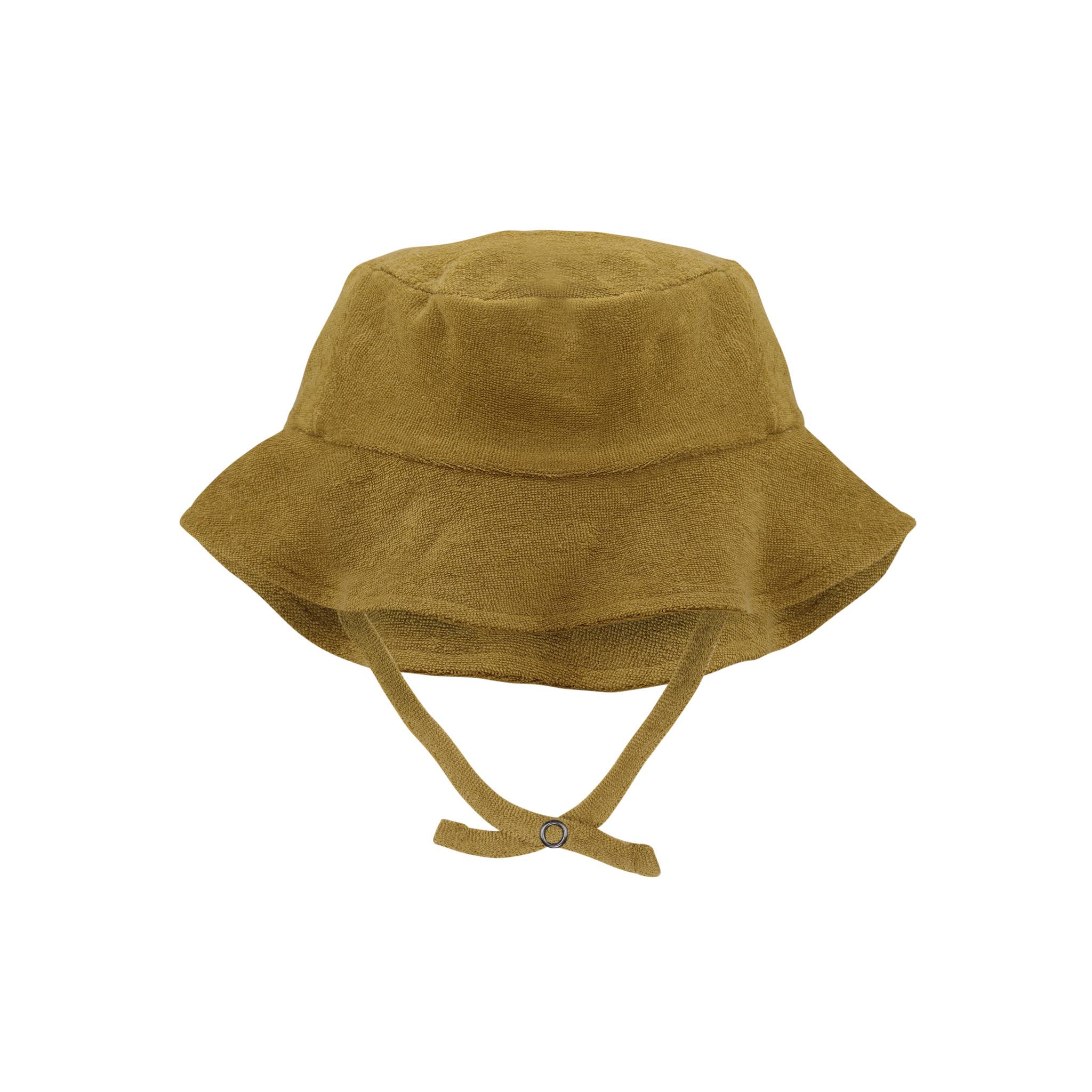 Frotté sun hat - pear-1