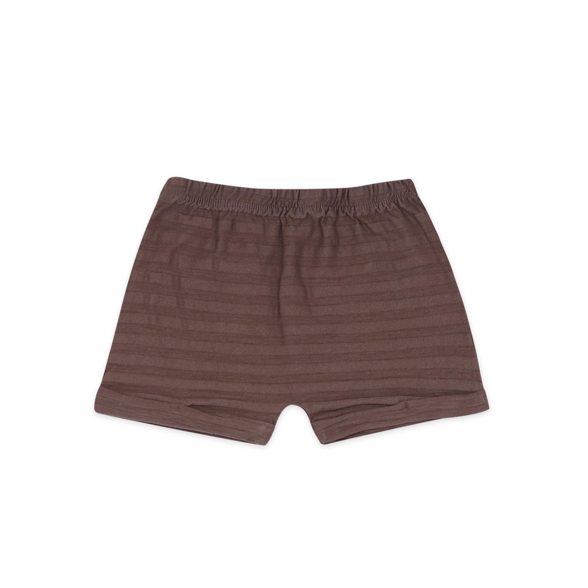 Summer shorts tonal stripe - heather-1